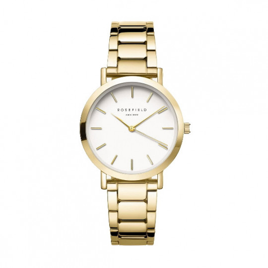 WATCH ROSEFIELD THE TRIBECA SUNRAY STEEL GOLD. TWSG-T61