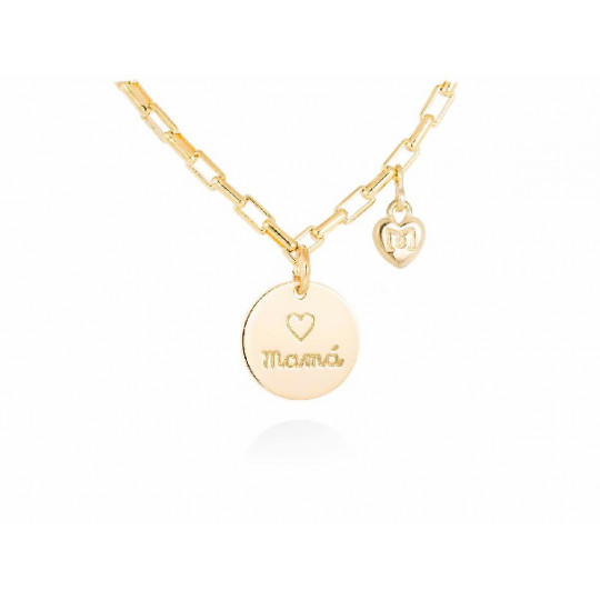 MOTHER'S CHOKER IN GOLD PLATED SILVER 90631GD