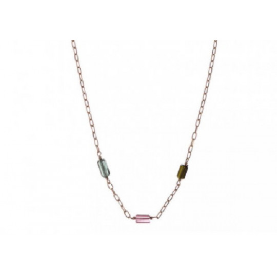 Necklace With Coloured Stones