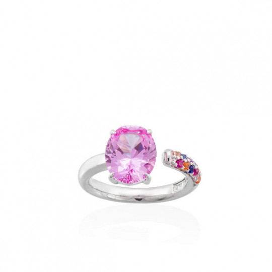 LIDO Rose ring in silver 90484SF