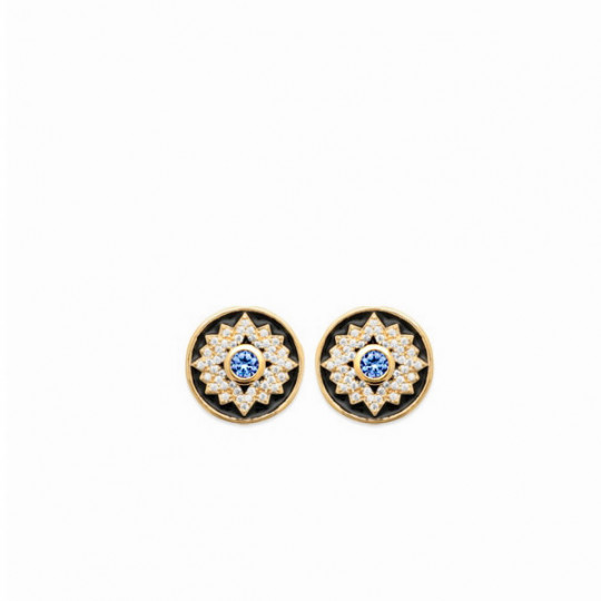 Round Earrings Colours