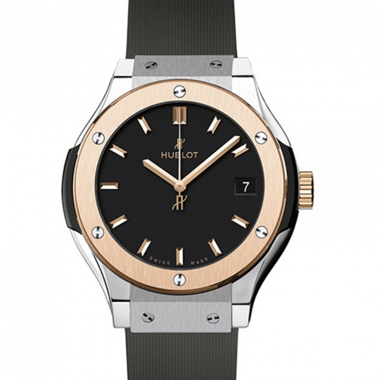 HUBLOT CLASSIC FUSION TITANIUM KING GOLD 33 MM 581.NO.1181.RX