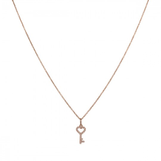 PENDANT WITH KEY OF DIAMONDS