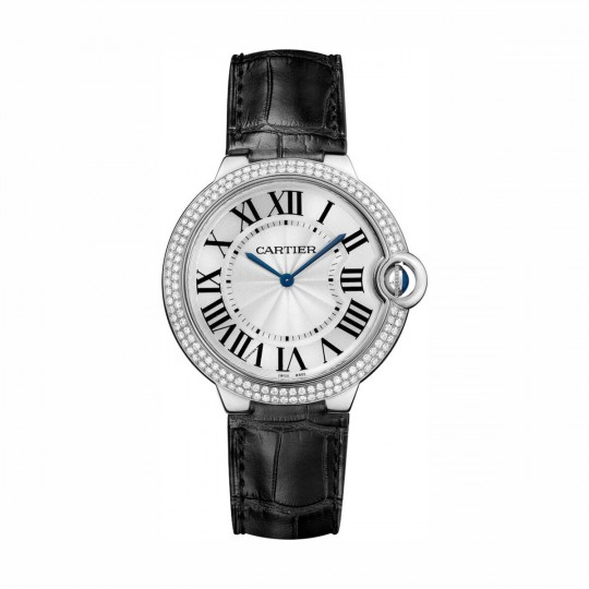 RELOJ BALLON BLEU DE CARTIER WE902056 40 MM, ORO BLANCO RODIADO, ORO RODIADO, DIAMANTE