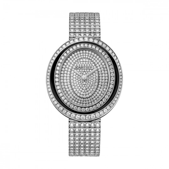 HYPNOSE WATCH HPI01050 MEDIUM MODEL, STEEL, DIAMONDS