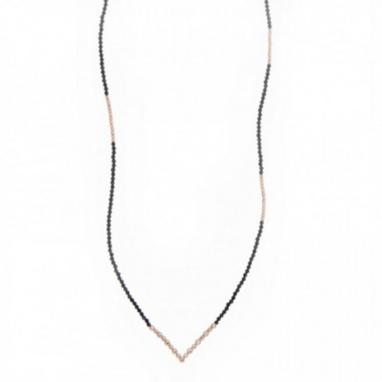 LONG NECKLACE BICOLOR