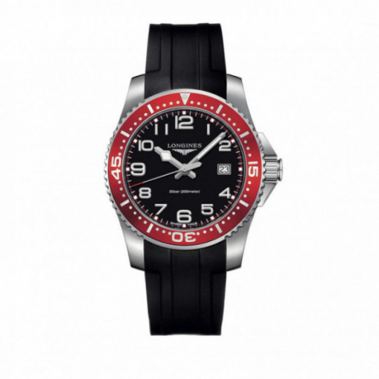 LONGINES HYDROCONQUEST 41MM L36894592 RUBBER